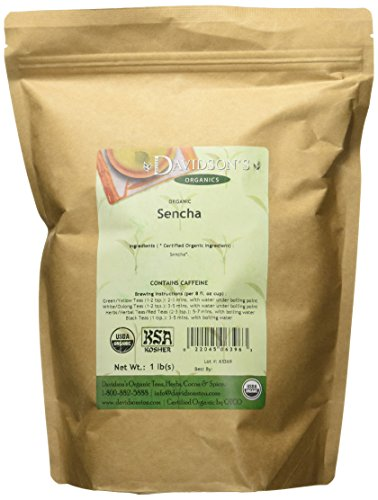 (Davidson's Tea Bulk, Sencha, 16-Ounce Bag)