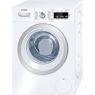 Bosch WAW28570 Serie 8 Waschmaschine Frontlader / A+++ / 196 kWh/Jahr / 1360 UpM / 8 kg / Weiß / Fleckenautomatik / Trommelreinigung mit Erinnerungsfunktion 12