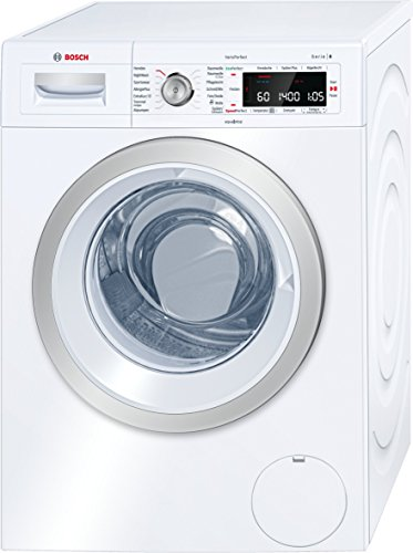 Bosch WAW28570 Serie 8 Waschmaschine Frontlader / A+++ / 196 kWh/Jahr / 1360 UpM / 8 kg / Weiß / Fleckenautomatik / Trommelreinigung mit Erinnerungsfunktion 1