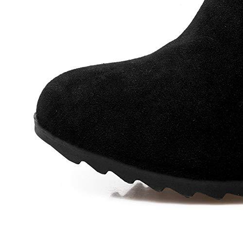Mujer Cuña 1to9 Sandalias Con Negro Mns03010 xq6Tfpwyg