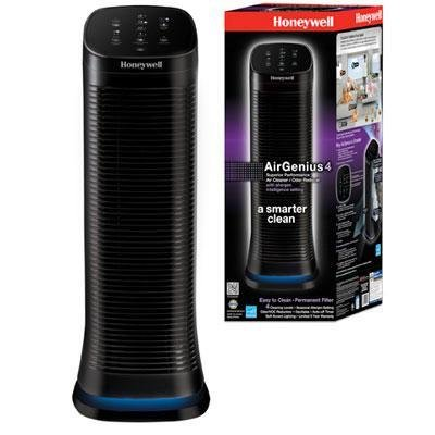 AIR PURIFIER 4SPD BLK HW by HONEYWELL MfrPartNo HFD310