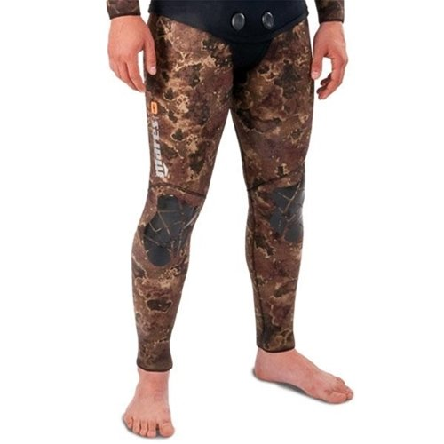 Mares Pure Instinct 3mm Spearfishing Freediving Wetsuit Pants, Brown Camo, S3 Medium by Mares