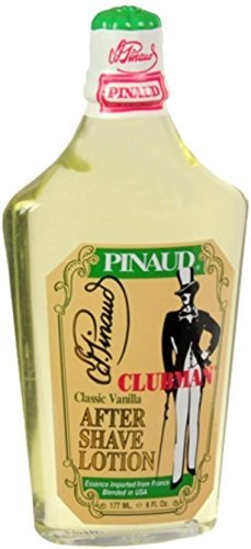 Pinaud Clubman Classic Vanilla After Shave Lotion 6 oz (Pack of 4) ()