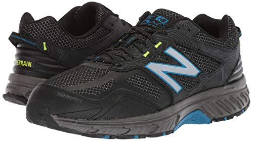 New Balance Men's 510v4 Cushioning Trail Running Shoe, Magnet/Black/Reflective, 7.5 D US by New Balance (Image #6)