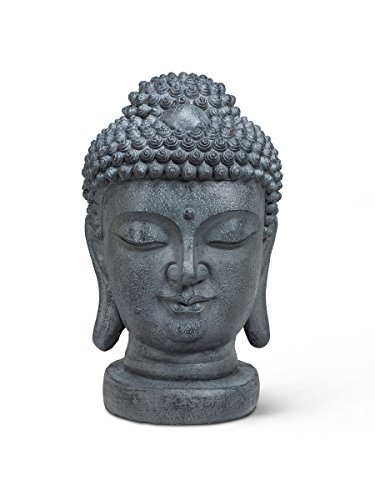 Abbott Collection 27-Serenity/S467 Grey Large Buddha (Large Buddha Head)