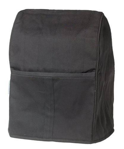 KitchenAid KMCC1OB Stand Mixer Cloth Cover - Onyx Black - smallkitchenideas.us