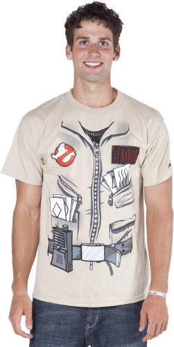 Ghostbuster Dr. Peter Venkman Adult Costume T-Shirt - (Paranormal Investigator Costume)