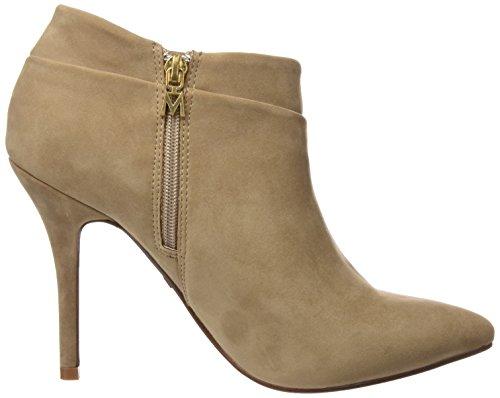 Mare Calzado Chaussures Señora Talon à avec Taupe Femme Basic Bout Maria Rouge Peach Fermé Marron dxZqUd