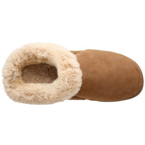 Ewe Slipper Acorn Collar Walnut Women's ZwBqzB5