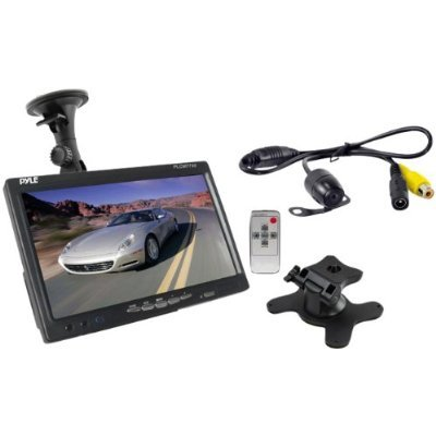 Pyle PLCM7700 7-Inch Window Suction Mount LCD Video Monitor with Universal Mount Rearview, Backup Color Camera and Distance Scale Lines New Gadget by GADGETS-R-US