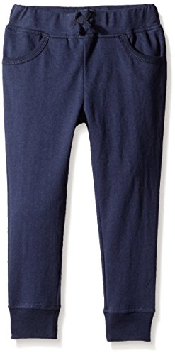 French Toast Little Girls' Jogger Pant, Navy, 6