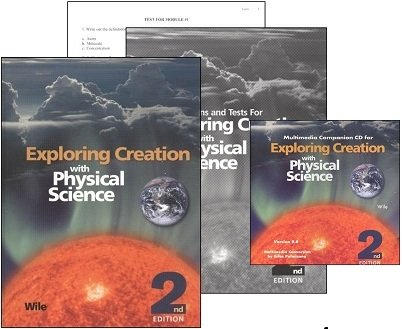 Exploring Creation with Physical Science SET with Textbook, Solutions/Tests and Companion CD