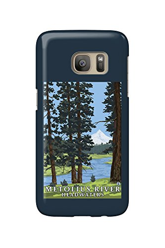 Metolius River Headwaters  Oregon  Galaxy S7 Cell Phone Case  Slim Barely There
