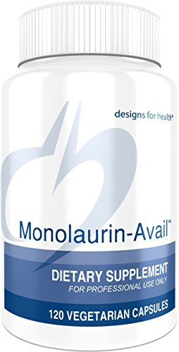 Designs for Health - Monolaurin-Avail - 1000mg Glycerol Monolaurate + Vitamin C Immune Support, 60 Servings by designs for health (Image #6)