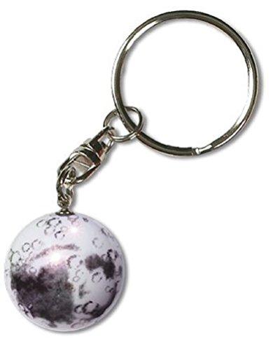 scent Moon Keychain-1 Inch Diameter Art Glass Marble (Art Glass Keychain)