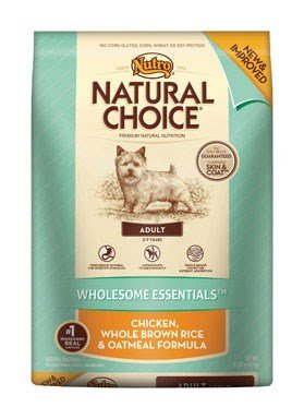 NATURAL CHOICE Adult Wholesome Essentials Chicken, Whole Brown Rice and Oatmeal Formula, 15 lbs.
