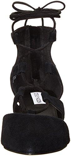Steve Madden Wishez Damen US 7.5 Schwarz Sandale