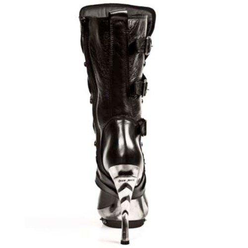 NEWROCK NR M.PUNK001 C1 Schwarz - New Rock Stiefel - Damen