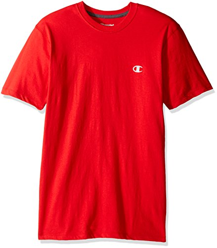 Écarlate neck Vapor Men's Shirt Champion Crew Cotton a0YIaHR