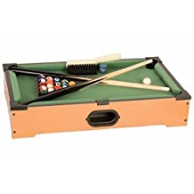 CHH 9004S Pool Tabletop Game Set, 21-Inch, Mini