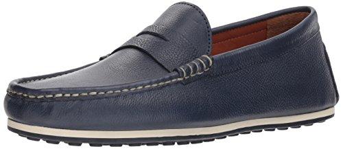 Allen Edmonds Men's Turner Penny Driving Style Loafer, Navy Grain, 9.5 D US Allen Shoes