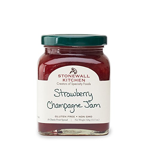 Stonewall Kitchen Strawberry Champagne Jam, 11.5 Ounce