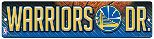 NBA Golden State Warriors High-Res Plastic Street (Golden Signs)