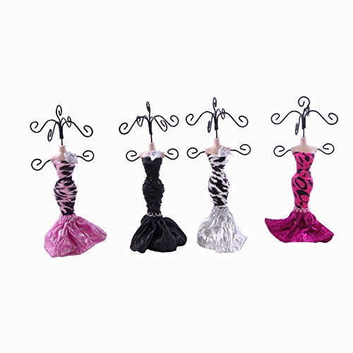 Blancho Bedding Leopard - Set of 4 Dress Up Doll Necklace...