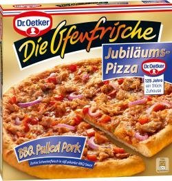 Dr Oetker Ofenfrische Bbq Pulled Pork Pizza 400 G Amazonde