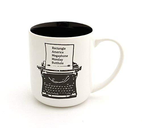 Ron Swanson Typewriter Parody Mug