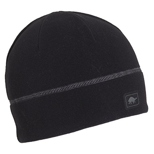 Turtle Fur Micro Fur Beanie, Black, One Size
