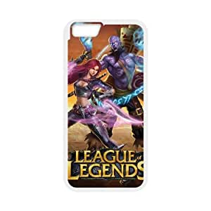 iPhone 6 4.7 Inch Cell Phone Case White League Of Legends Unique Phone Case Covers CZOIEQWMXN14471
