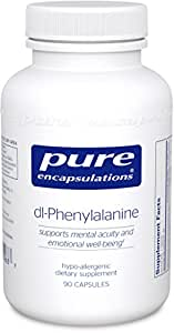 Pure Encapsulations - DL-Phenylalanine - Hypoallergenic Supplement to Support Mental Acuity and Emotional Well-Being* - 90 Capsules