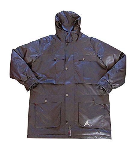 Nike air Jordan Ultimate 3 in 1 Winter Jacket 623465 Hooded Parka Coat (XXL, Black 010) (Jordan Retro 3 Jacket)