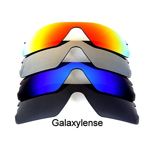 80709c9ca2a7b Galaxy Replacement Lenses for Oakley Radar Path Black Blue Gray Red Color  Polorized 4 Pairs