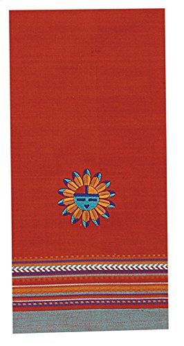 Kay Dee Designs F0618 Southwest Sun Embroidered Tea Towel