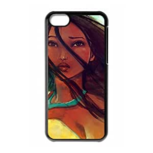 iphone5c Black phone case Beautifully Disney Heroines Princess Pocahontas DVA2676284