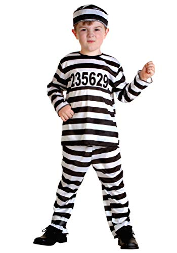 (Toddler Prisoner Costume 2T)