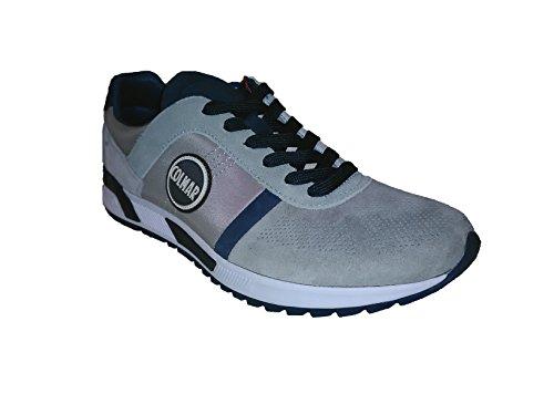 Sneakers Uomo Grigio Colmar Evolution Chiaro Travis pwHU0qE