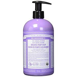 Dr Bronner'S Pump Soap – Lavender 355m...