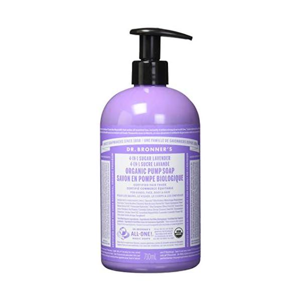 Dr Bronner'S Pump Soap – Lavender 355ml