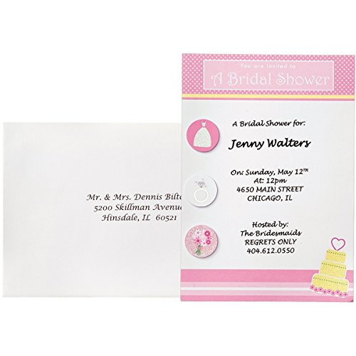 Wilton Shower Invitations