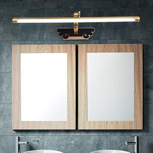 &Lampada frontale a specchio a LED Specchio della luce anteriore LED Specchio della luce del Governo europeo igienici Bagno semplice trucco leggero Specchio europea specchio luce
