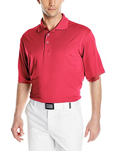 Antigua Men's Pique Xtra-Lite Desert Dry Polo Shirt, Dark Red, XX-Large