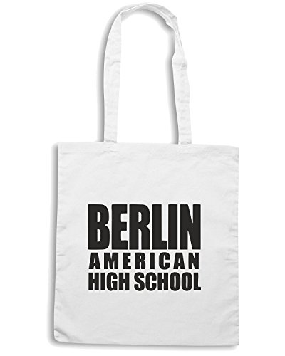 T-Shirtshock - Bolsa para la compra OLDENG00021 berlin american high school Blanco