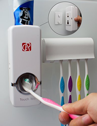 Touch Me Hands-Free Toothpaste Dispenser (white) - 2