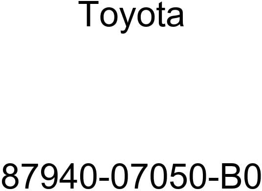 Genuine Toyota 87940-07050-B0 Rear View Mirror Assembly