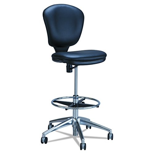 Safco Products 3442BV Metro Extended Height Chair (Additional options sold separately), Black Vinyl Metro Home Office