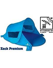 Outdoorer–Wurf-Strandmuschel Zack Premium Blau, UV 80