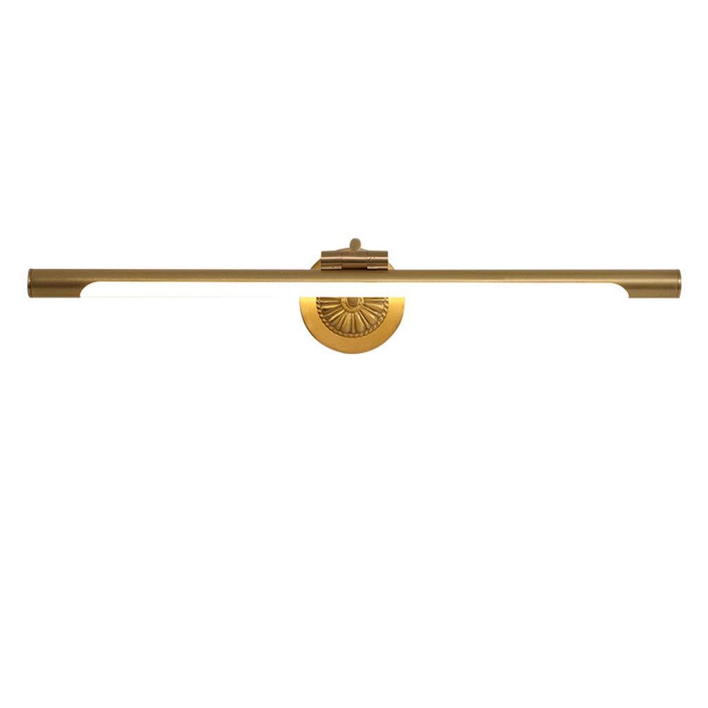 &Badezimmerbeleuchtung Badezimmerspiegel Scheinwerfer, Dressing Lampe Retro Led Wandleuchte Einfache Spiegel Schrank Spiegel Licht (Größe   43cm)